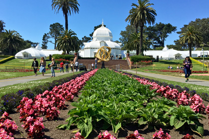 Conservatory of Flowers, Golden Gate Park, San Francisco